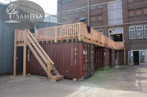 container terras meesterproef 2