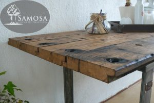 oud eiken tafel 1